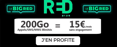 Forfait BIG RED 200Go