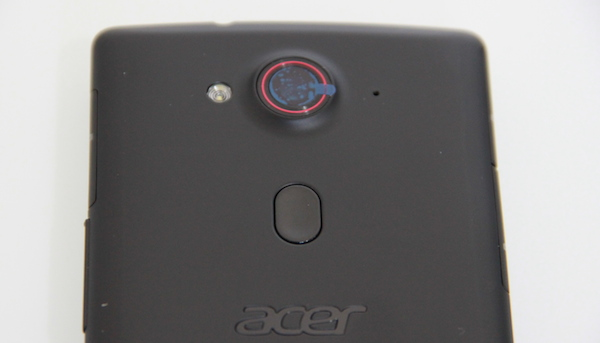 Acer Liquid E3 capteur photo