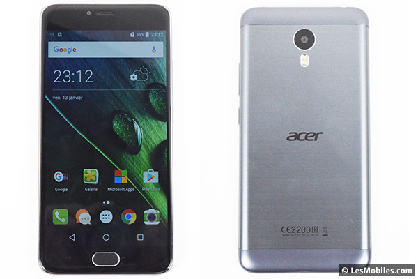 Acer Liquid Z6 Plus prise en main