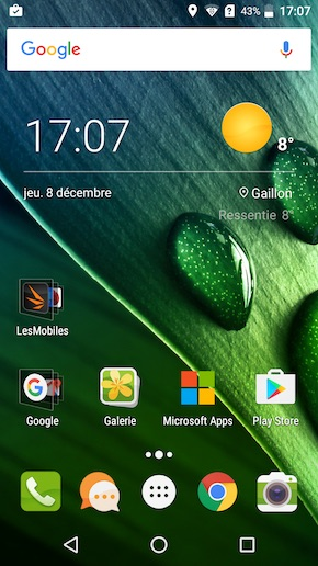 Acer Liquid Z6 Plus interface