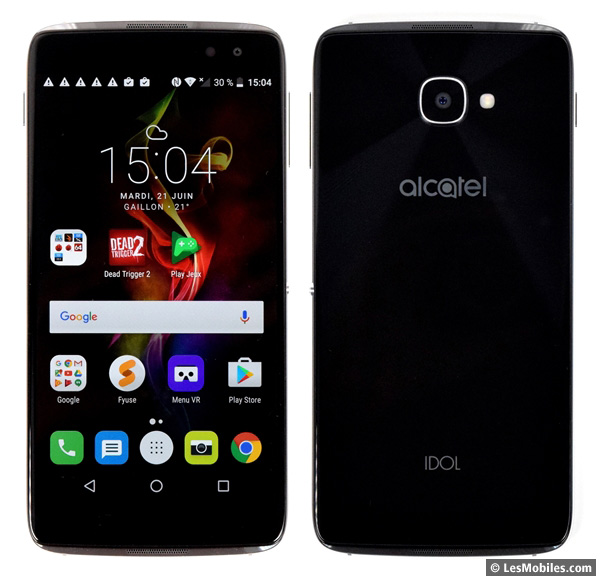 Alcatel Idol 4S prise en main