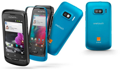 Alcatel One Touch 918 Mix disponible chez Orange