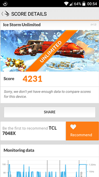Alcatel OneTouch GO Play : 3Dmark