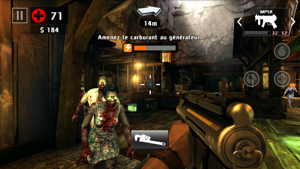 Alcatel OneTouch GO Play : Dead Trigger 2