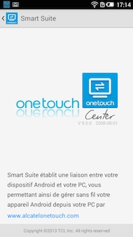 Alcatel OneTouch Idol 2 Mini S Application