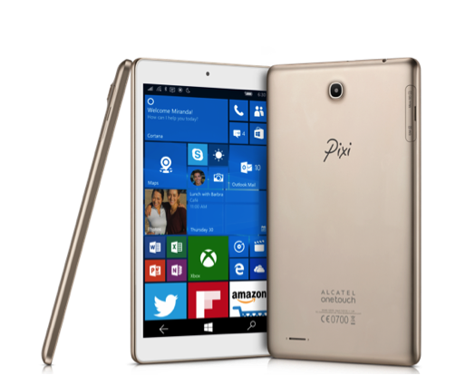 Alcatel onetouch pixi 3 tablet une petite tablette for Petite tablette