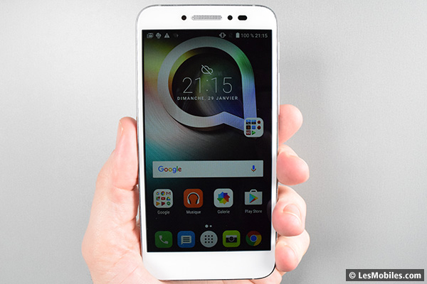 Alcatel Shine Lite prise en main