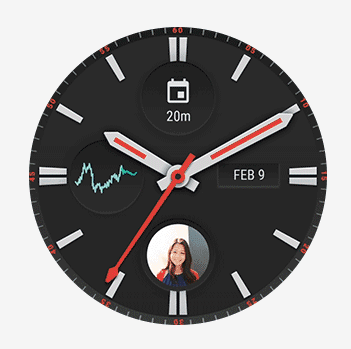 Android Wear 2.0 Watchface