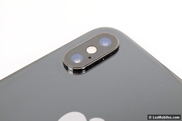 Apple iPhone XS capteur photo
