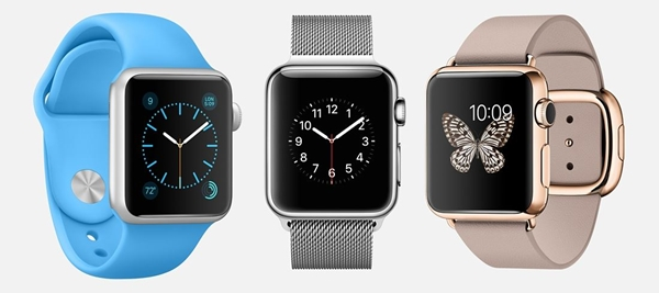 Apple Watch Sport, Watch et Watch Edition