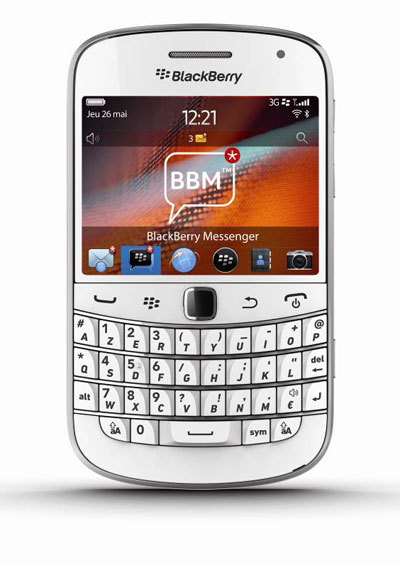 blackberry blanc pur sfr
