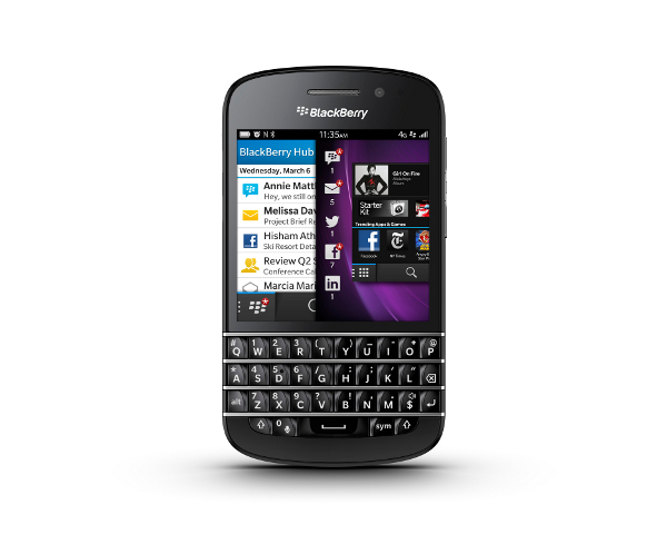 Le BlackBerry Q10 déjà disponible chez Orange