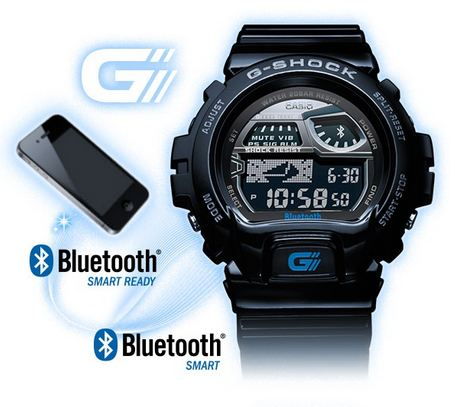casio g shock une nouvelle montre intelligemment reli e votre iphone. Black Bedroom Furniture Sets. Home Design Ideas