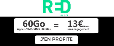 Forfait RED 60Go