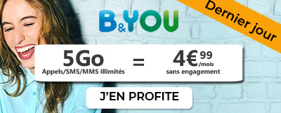 Forfait b and you 5Go