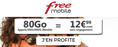 Free Mobile 80Go