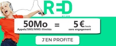 Forfait RED 50 Mo