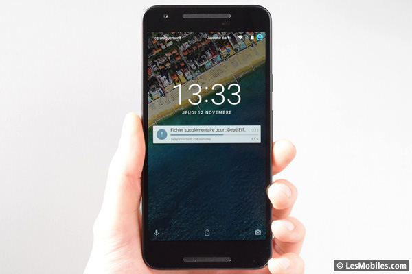 Google Nexus 5X prise en main
