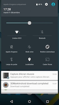 Google Nexus 6 Interface