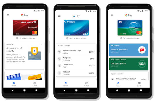 Google lance officiellement Google Pay