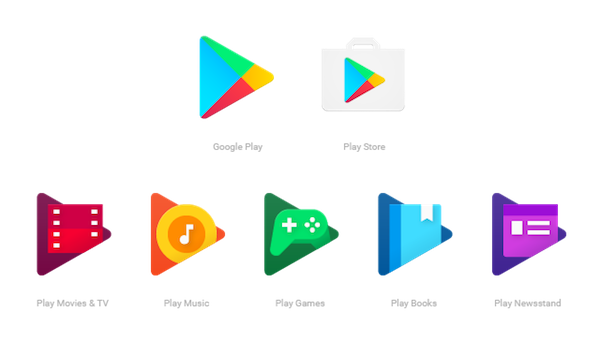icones play store