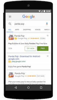 Google Search App Streaming
