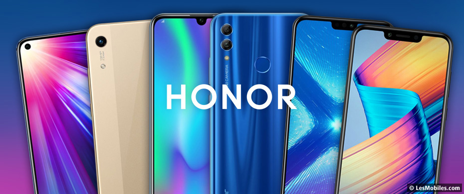 Guide d'achat smartphones Honor (2019)