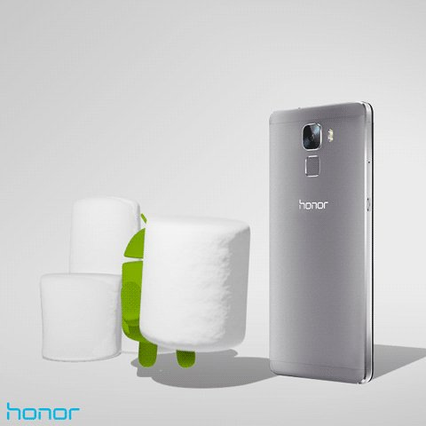 Android Marshmallow pour Honor 7