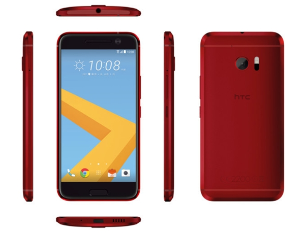HTC 10 rouge