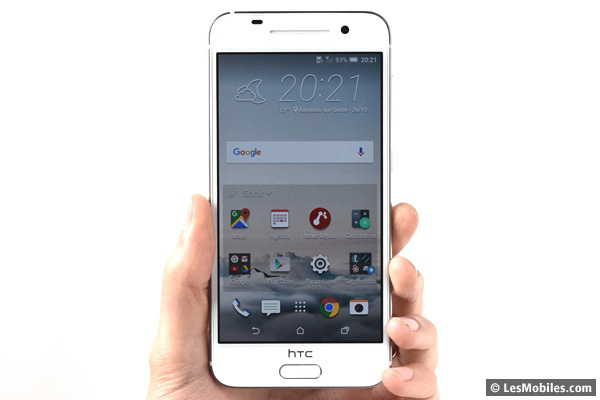 HTC One A9 prise en main