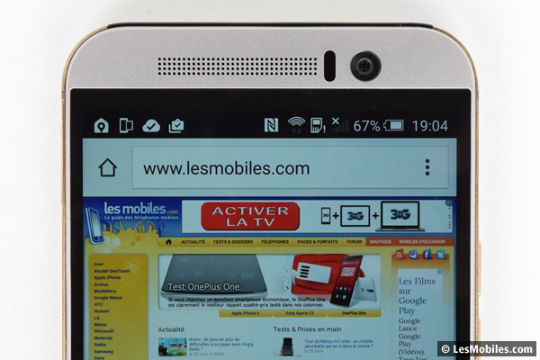 HTC One M9 prise en main