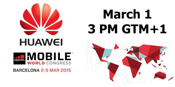Invitation Huawei pour le MWC