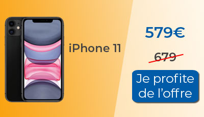 iphone 11 promo RED by SFR