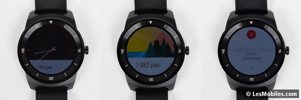 LG G Watch R : Android Wear