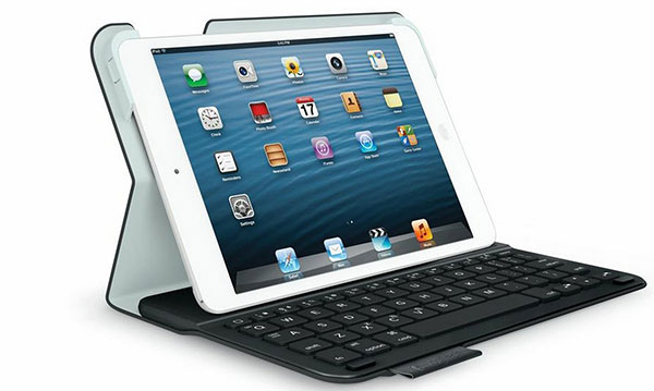 Test logitech ultrathin keyboard folio pour ipad mini le for Petite tablette