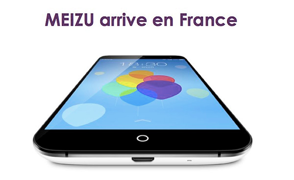 MEIZU arrive en France