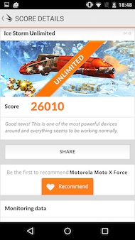 Motorola Moto X Force performances