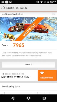 Motorola Moto X Play performance