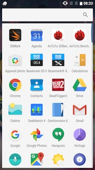 OnePlus 3T interface