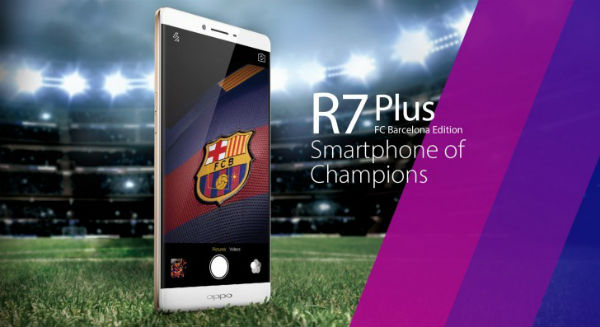Oppo R7 Plus Edition FC Barcelone