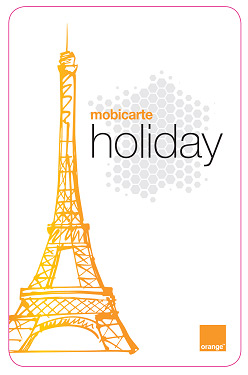 Orange mobicarte holiday
