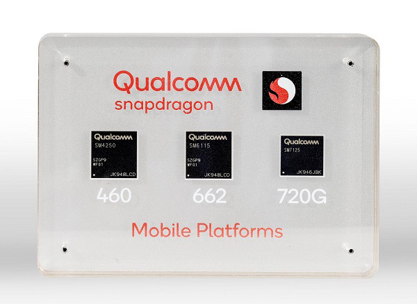 Qualcomm Snapdragon 460, 662 et 720G