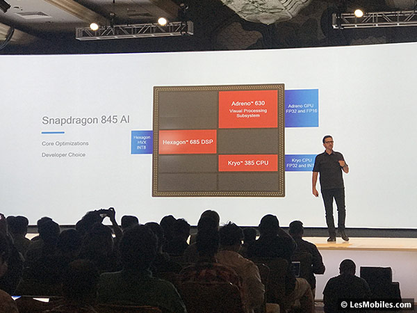 Qualcomm Snapdragon 845 Intelligence artificielle