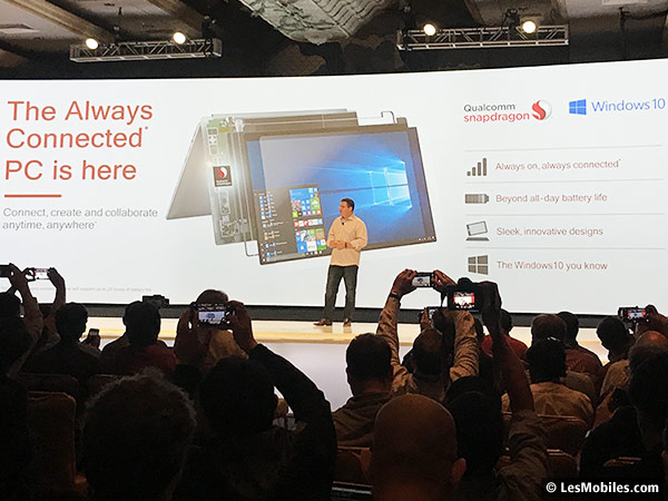 PC Always Connected avec Snapdragon 835