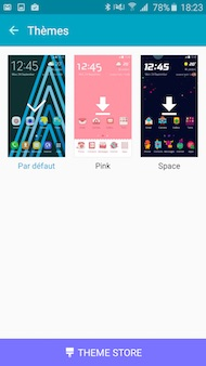 Samsung Galaxy A5 (2016) interface