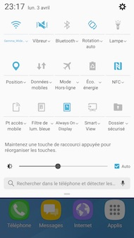 Samsung Galaxy A5 (2017) interface