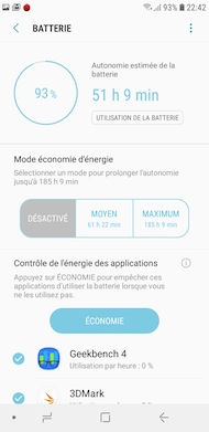 Samsung Galaxy A6 performance