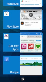 Samsung Galaxy Grand Prime interface