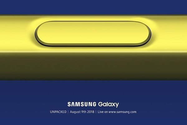 teaser galaxy note 9