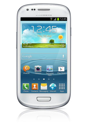 Photos officielles du Samsung Galaxy S3 Mini